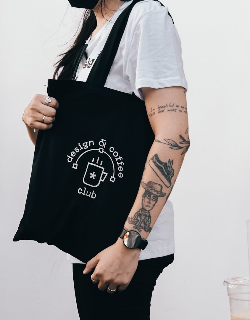 Tote Bag Design & Coffee Club